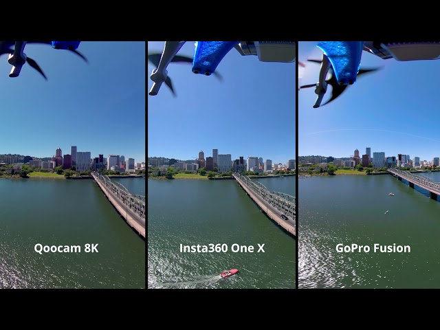 Qoocam 8K comparison