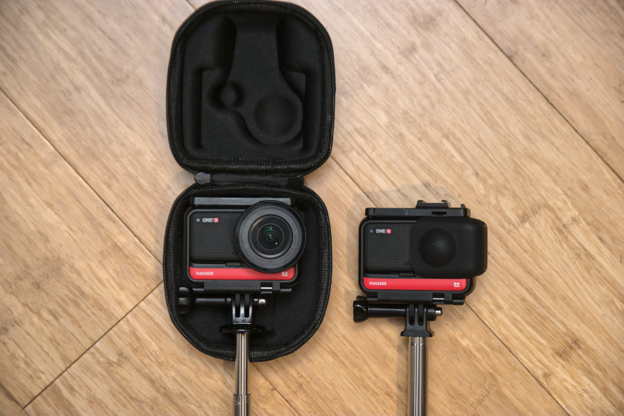 Universal Insta360 One R camera case for all mods