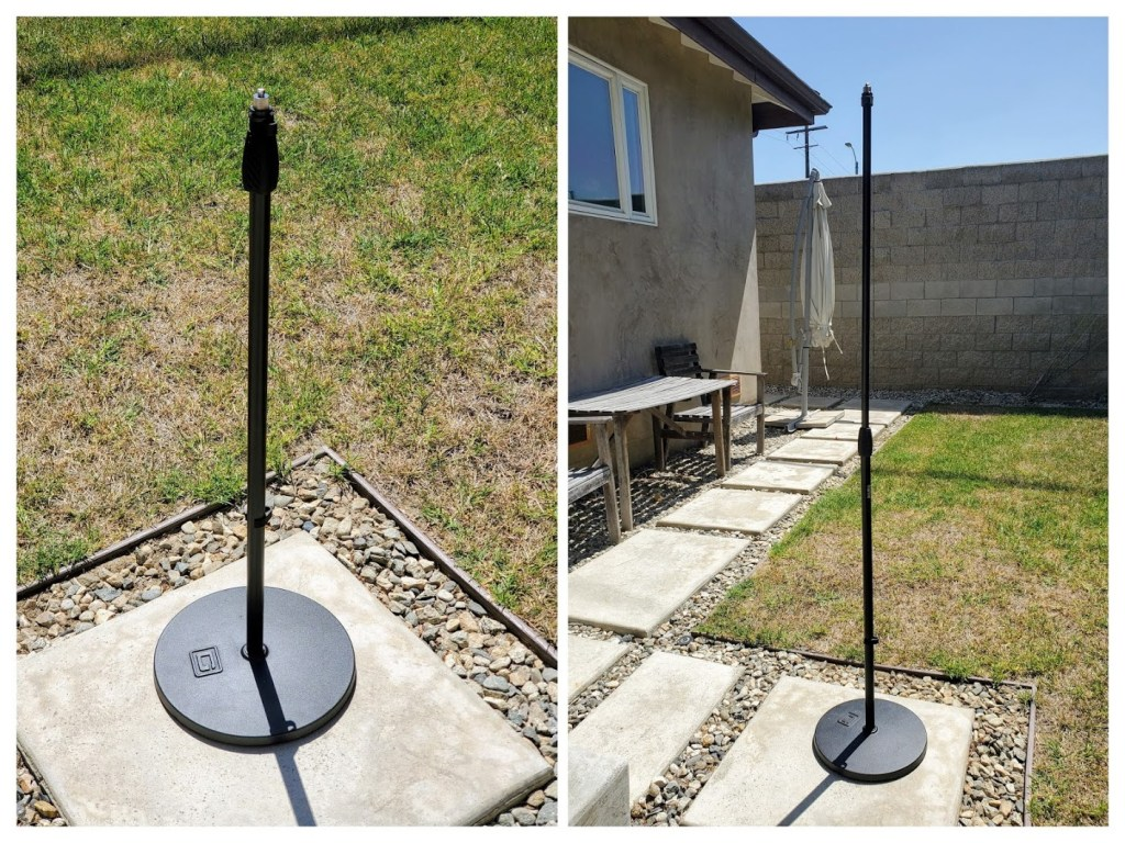 Microphone stand for 360 camera?