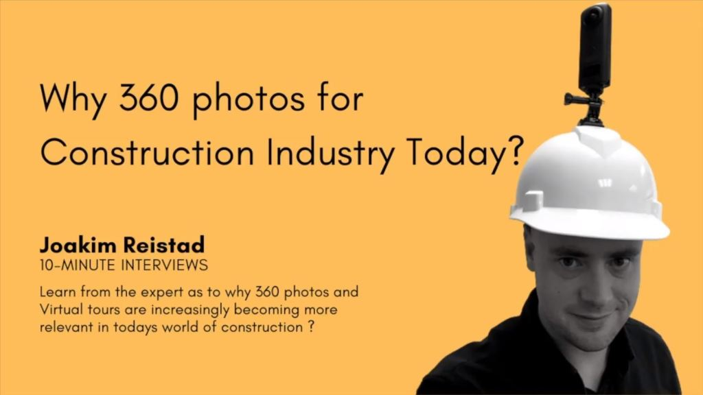 Using virtual tours for construction industry