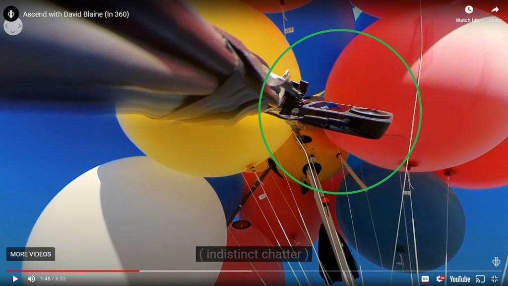 David Blaine's team used a GoPro MAX