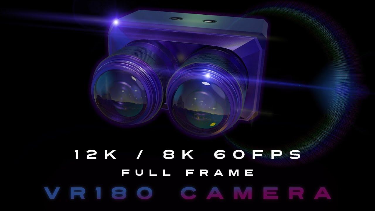 Full frame VR180 camera
