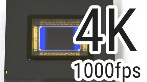 Nikon's new 4K 1000fps sensor