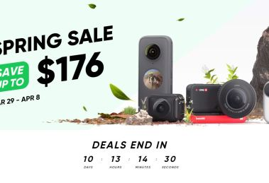 Insta360 sale on One X2, One R, and more