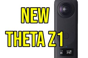 New Ricoh Theta Z1 coming on March 25