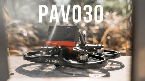 Pavo30 could be the world's smallest 3-inch cinewhoop