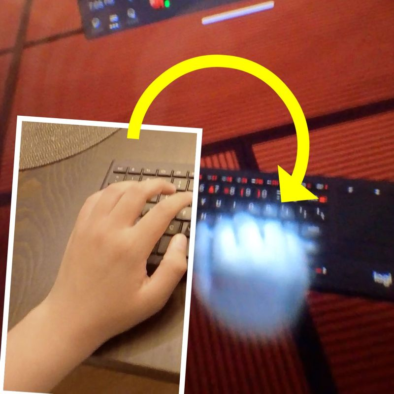 Working in VR with the FIRST virtual keyboard