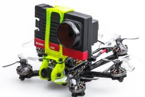 Tiny hexacopter carries Insta360 SMO