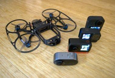 StanFPV Cine Bird invisible 360 camera drone review