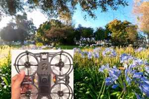 Newbeedrone Invisi360 sample video