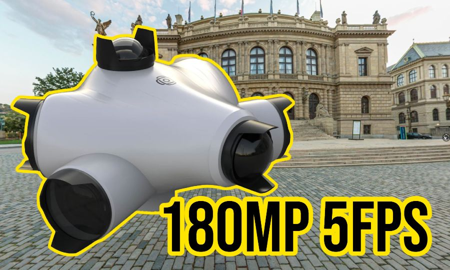 Mosaic Viking is the world's highest resolution 360 camera