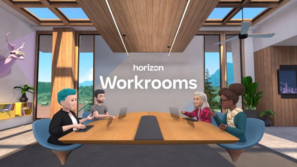 Facebook Horizon Workrooms - meet and work in VR