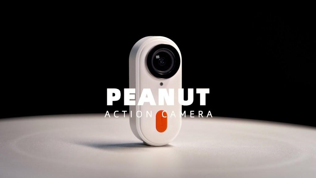 Caddx Peanut הוא Insta360 Go 2 שונה עבור FPV