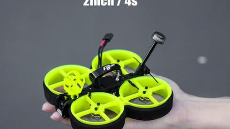 Flywoo Cinerace20 combines freestyle and cinewhoop