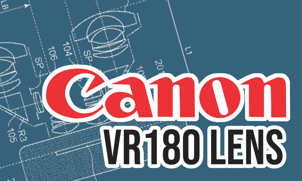 Canon files patent for VR180 lens