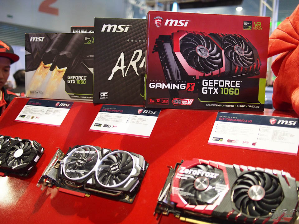 MSI's perfect 10 videocards.