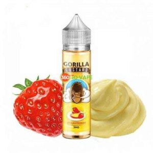 Gorilla Custard Strawberry 60ml