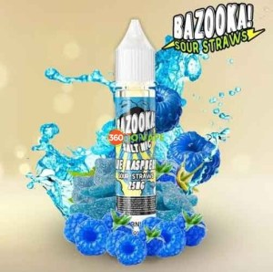 Blue Raspberry Salt by Bazooka