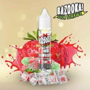 Strawberry ICE Salt Nic by Bazooka