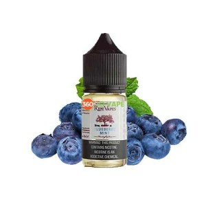 Blueberry Mint Salts By ripe Vapes 30ml