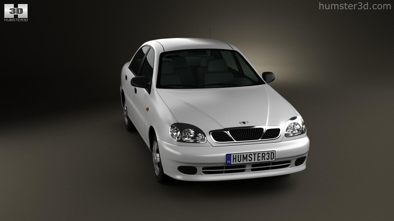 hight resolution of daewoo lanos 2012 3d model
