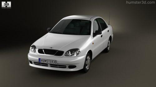 small resolution of daewoo lanos 2012 3d model