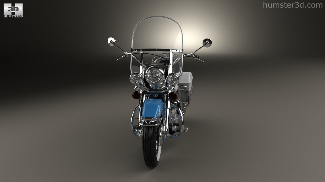 hight resolution of harley davidson flh electra glide shovelhead 1966 3d model