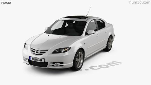 small resolution of mazda 3 sedan s 2005 3d model