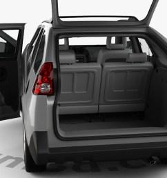 pontiac aztek with hq interior 2005 3d model [ 1280 x 720 Pixel ]