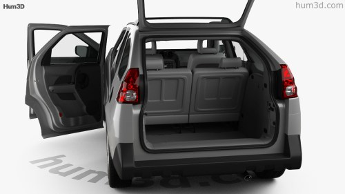 small resolution of pontiac aztek with hq interior 2005 3d model
