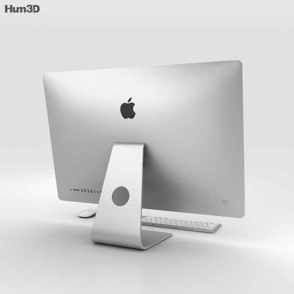 Apple Imac 27- 2017 3d Model - Electronics Hum3d