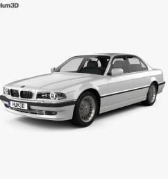 bmw 7 series e38 1998 3d model [ 1000 x 870 Pixel ]