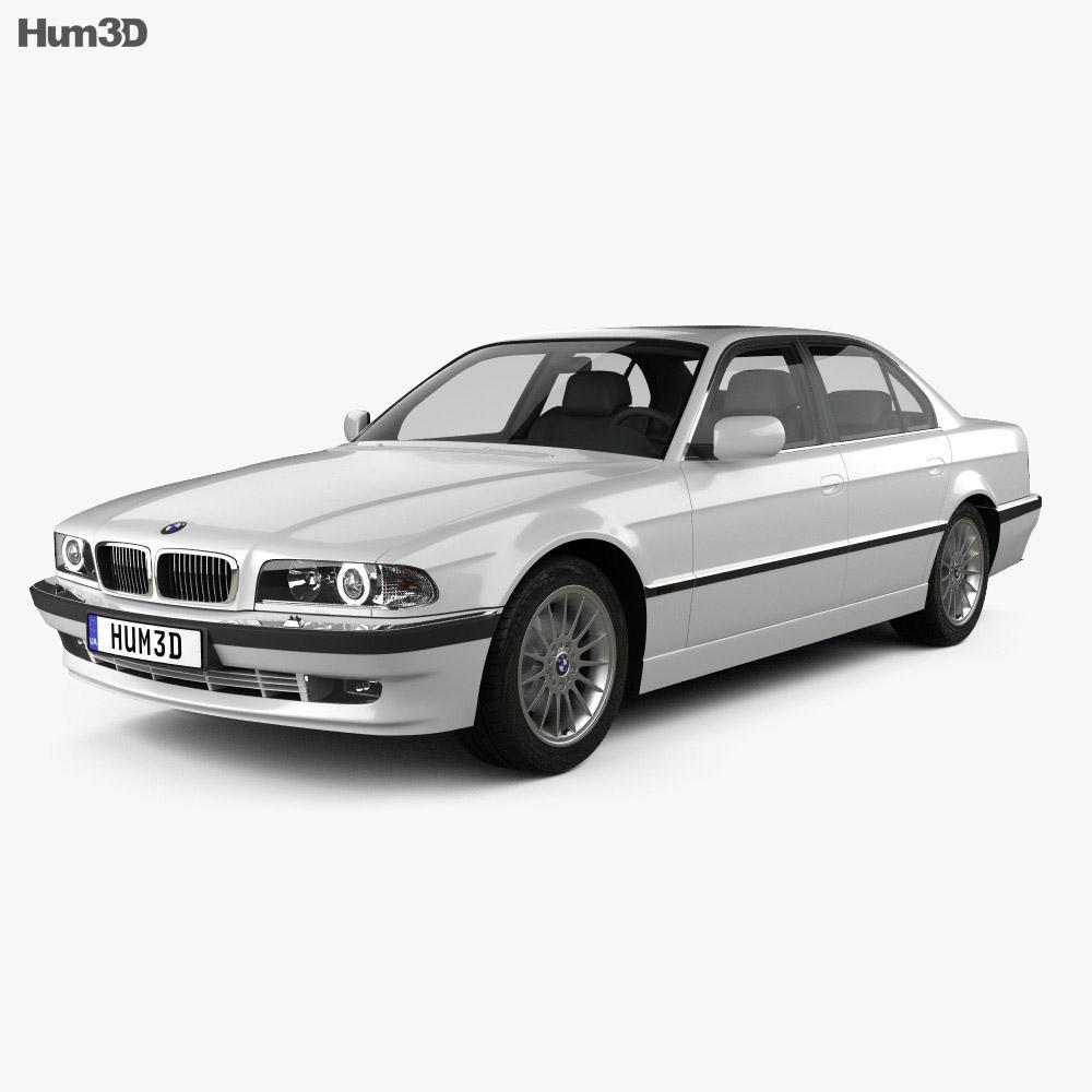 hight resolution of bmw 7 series e38 1998 3d model