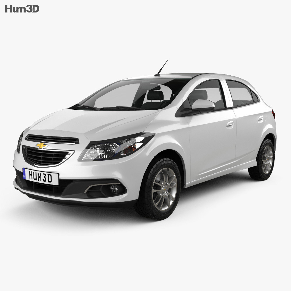 hight resolution of chevrolet onix 2013 3d model