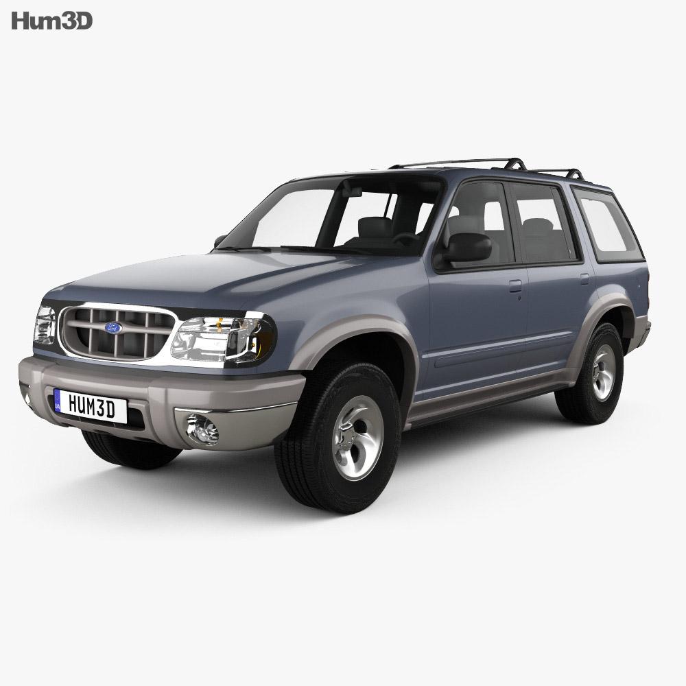 hight resolution of ford explorer 1994 3d model
