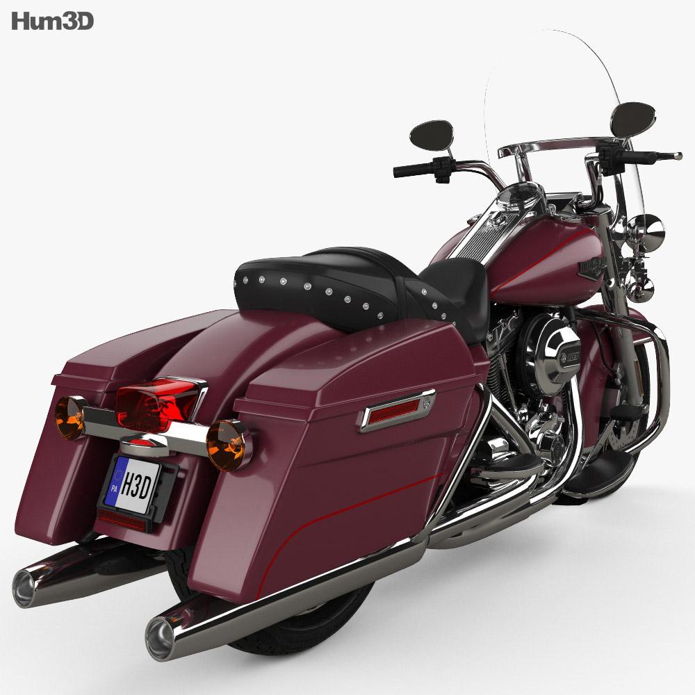 hight resolution of  harley davidson flhr road king 1994 3d model