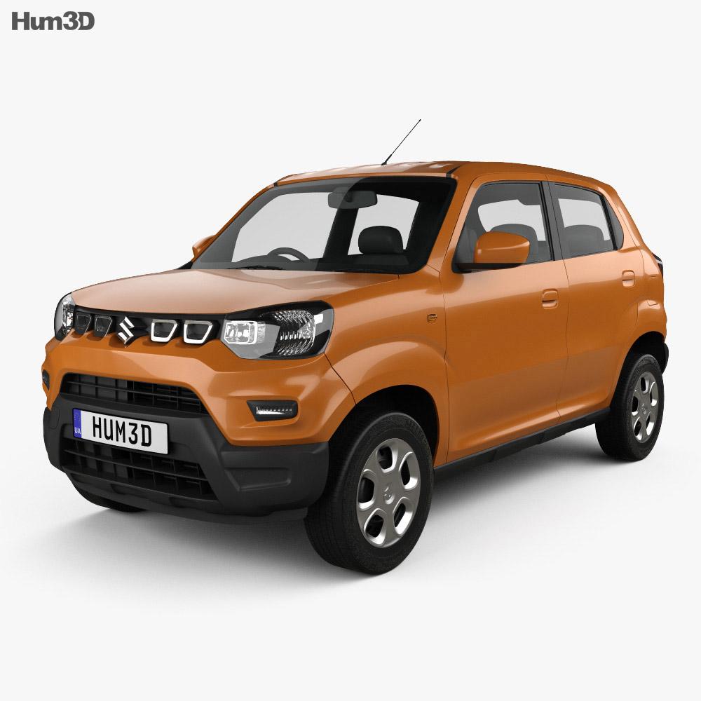 Suzuki Maruti S-Presso 2019 3D model - Vehicles on Hum3D