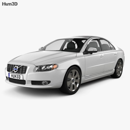 small resolution of volvo s80 2011 3d model