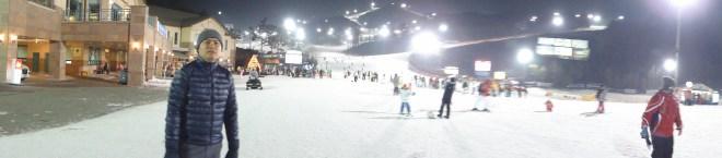 Oak valley ski resort south korea - night 2