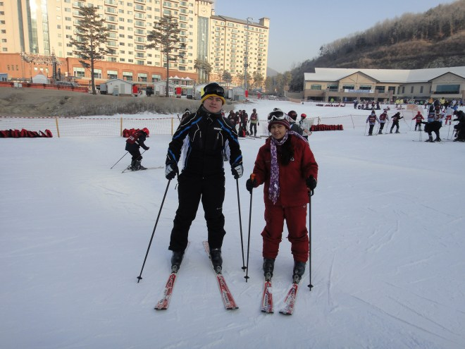Oak valley ski resort south korea