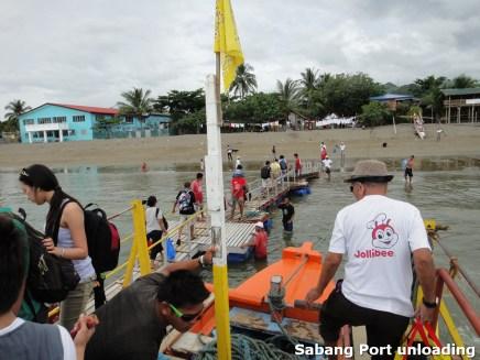 Sabang Port Unloading