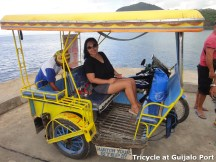 Tricycle at Guijalo Port