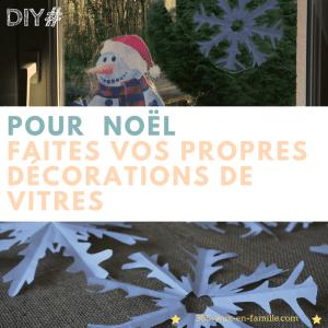 Read more about the article Pour Noël :  vos décorations de vitres faciles à faire !