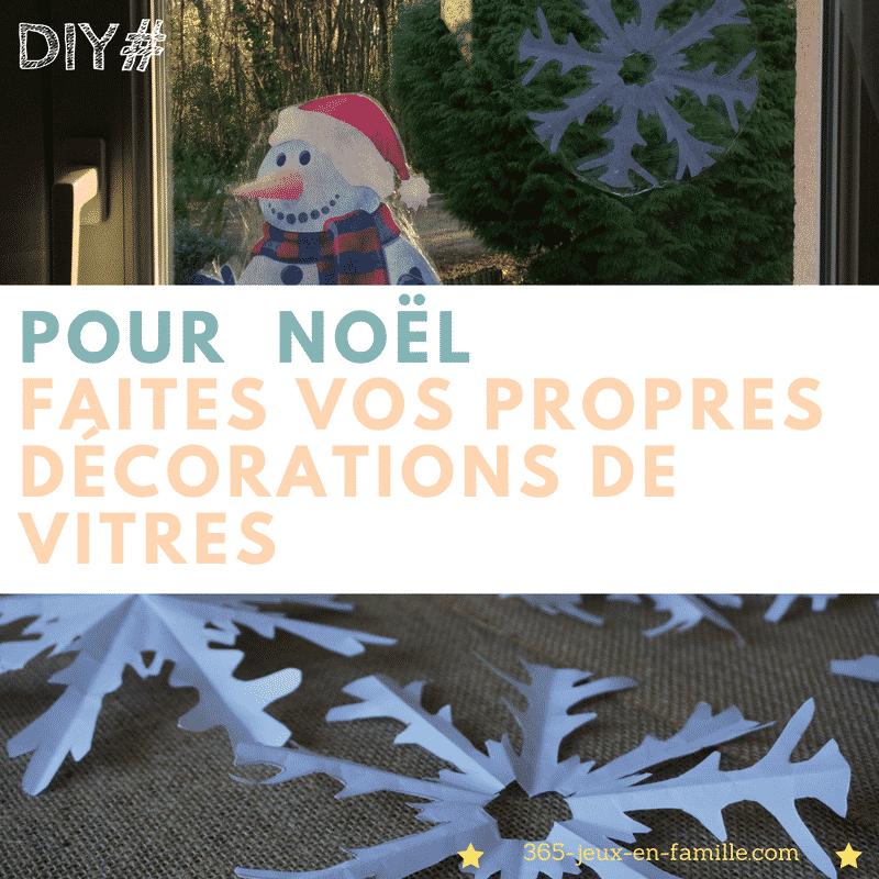 You are currently viewing Pour Noël :  vos décorations de vitres faciles à faire !