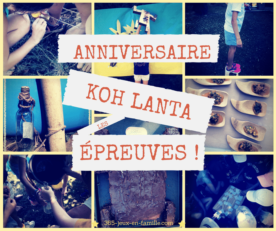 You are currently viewing Anniversaire Koh Lanta : les épreuves !