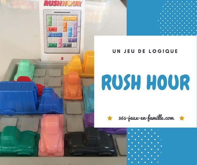 Rush Hour un jeu de logique