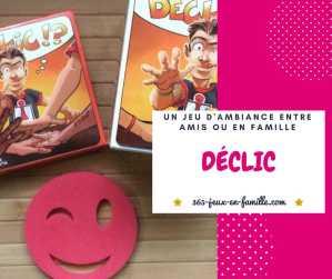 Read more about the article Jeu d'ambiance assurée avec Déclic