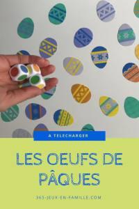 Read more about the article Les oeufs de Pâques : un jeu gratuit à imprimer !