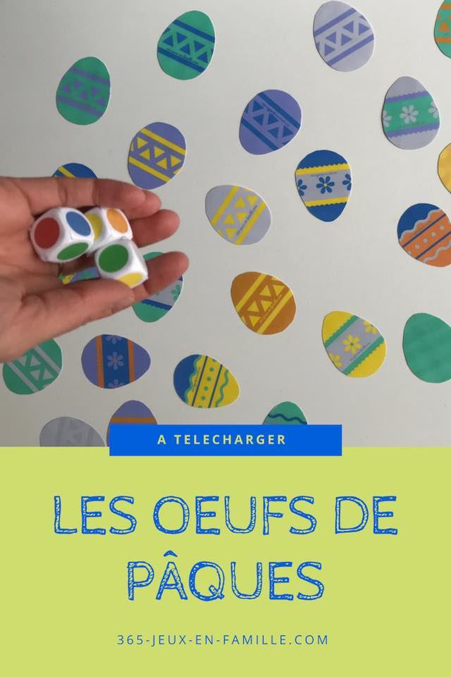 You are currently viewing Les oeufs de Pâques : un jeu gratuit à imprimer !
