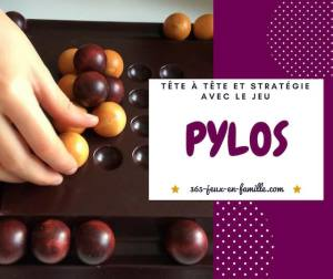 Read more about the article Stratégie et tête à tête avec le jeu Pylos